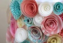 Wafer Flower Cakes / Wafer flowers have made a resurgence in 2014 as brides move away from using real flowers on their cakes. Many items to recreate these ideas can be found in our online shop here http://www.sweetsuccess.uk.com/Home.asp