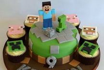 Minecraft Cakes / Minecraft is proving ever popular as a party theme for boys and girls alike! We've tried to round up some of the best party ideas and cake inspiration for you to help your party go with a bang! Many items to recreate these ideas can be found in our online shop here http://www.sweetsuccess.uk.com/Home.asp