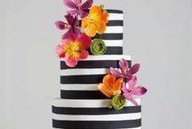 Stripey Cakes
