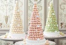 Macarons / Macarons are French bite sized treats which have grown in popularity throughout the UK during 2015. They make great tea time treats as well as stunning centrepieces!