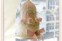 Birdcage Cakes / Birdcage cakes are still proving popular for vintage style weddings. They can be made to top tiered wedding cakes or cupcake towers making them a versatile style indeed! You can buy everything you need to make one in our online store here http://sweetsuccess.uk.com/