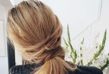 Knotty Looks / Inspiration for your ponys & half up-half down looks.