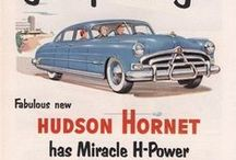 Retro Car Ads / Love these classic ads - takes you down memory lane...first car, dad's car, re-built cars. Cars have memory staying power - they take us to new places, show us the beauty of the countryside and give us the chance to escape the everyday.