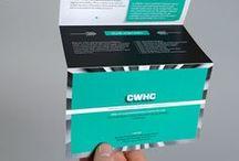Brochures, flyers, booklets