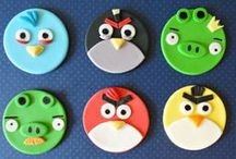 Angry Birds Cakes