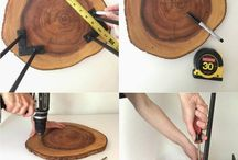 Wood furniture DIY