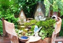 Fairy + Gnome Gardens / Bring back your inner child or share the fun and joy of gardening with the kids!