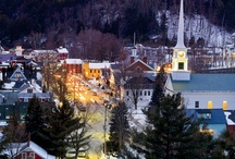 Why We Love Stowe, VT / There are so many reasons to love Stowe. Here are some amazing views of Stowe that will make you fall in love with the amazing little town.