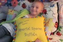 """Annabelle / Six year old Annabelle was diagnosed in October 28, 2011 with Acute Lymphoblastic Leukemia. She's recovering in her """"Ladybug Bedroom"""" Special Spaces Buffalo created just for her in June of 2012."""