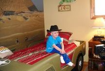 """Ben / Meet 6yr old Benjamin. In August of 2011 he was diagnosed with Acute Lymphoblastic Leukemia (ALL) – the most treatable and curable type! Ben is currently recovering in his """"Adventure Room"""" created for him in March of 2012 by Special Spaces Buffalo."""