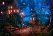 Fantasy worlds of Fairies and Favorites / Find your favorite pics of #fairies #dragons and all types of wonderful #favorite #fantasy world creations