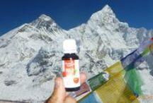 CherryPLUS- Everest Expedition- Ultrasportler / Wir bedanken uns bei einem zufriedenen Cherry PLUS Kunden für diese tollen Fotos.  Ohne Cherry PLUS wäre er da sicher nicht hingekommen!