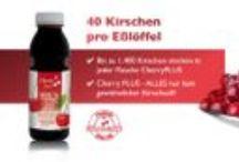 Sauerkirschsaftkonzentrat. Cherry PLUS Produkte / Sauerkirschsaftkonzentrat