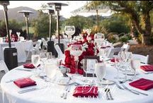 Outdoor Receptions / We offer several outdoor venue spaces...Sunset Rock, Del Lago Garden, Clubhouse Patio and even our Driving Range.