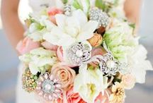 Wedding Bouquet / Custom made Wedding Bouquet. We create large or small, Real or Silks.