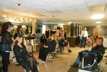 Student Fashion Events / Student hair shows and hair/make-up contests.