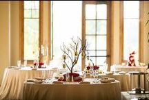 Clubhouse Receptions / Our Clubhouse is a great spot for smaller weddings. It can hold up to 85 people.