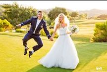 Couples on the Golf Course / All couples get the opportunity to go out onto our award winning golf course to take pictures that will last a lifetime!