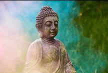 Escape to Bali / Buddhas, Kerzen, Bambus - farbenfroh und doch beruhigend präsentiert sich dieser exotische Look.