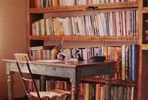 Bookcases / by Lorraine Rogerson