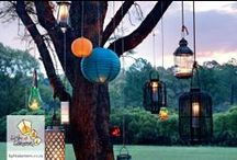 Lantern Products / From water lanterns, to candle lanterns at Light a Lantern we stock a wide range of paper lantern products to meet every decor need.