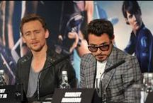 Tom Hiddleston/RDJ
