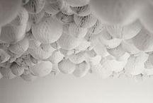Decor Inspiration | Paper Products / honeycomb balls, watermelon lanterns, paper pompoms.