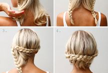 Mid length hairstyles / by Alice Madeley