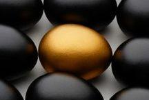 Colour board - Black 'n Gold
