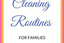 Clean House Routines for Raising the Capable Student / clean house routines, daily house cleaning tips, clean house tips, cleaning routines