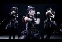 BABYMETAL / Su Metal - Suzuka Nakamoto, Yui Metal - Yui Mizuno and Moametal -  Moa Kikuchi