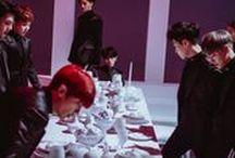 EXO / Xiumin, Suho, Lay, Baekhyun, Chen, Chanyeol, D.O, Kai, Sehun.  S.M. Entertainment.