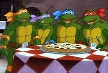 TMNT / Teenage Mutant Ninja Turtles - original 80´s til the first TMNT movie.