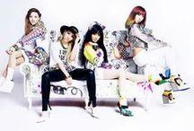 2NE1 / CL, Bom, Dara. ex Minzy.