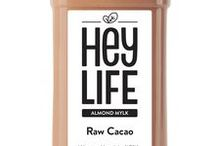 HEYLIFE Almond Mylks / On this board you can find all our coldpressed vegan almond mylks that are handmade with love in Zurich, Switzerland!