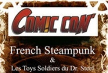 Comic Con 2011 / Stand French Steampunk http://www.frenchsteampunk.com