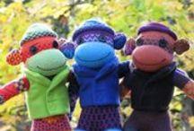 Sock monkey love....