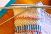 Tvåändsstickning / Twined Knitting