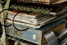 sketchbooks, art journals, bounded and unbounded books