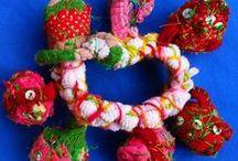 fabric - textile jewellery