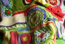 doilies, crochet, knit & sometimes lace