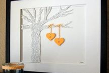 Unique Wedding Gifts / Gift ideas for the #happy #couple on their #wedding day!