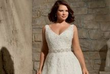 Curvy Brides / Gorgeous bridal dresses designed with the curvy bride in mind.  To see more styles, go to our Special Day board too!