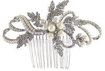 Headpieces and Hair Accessories / A selection of the combs, headbands and veils we stock in our bridal store. Designers include Richard Designs, Arianna's Tiaras and Twilight Designs.