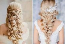 Bridal Hair / Gorgeous Bridal (and Bridal Party!) Hair Ideas and Inspiration
