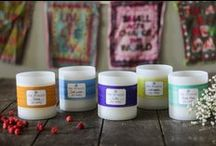 One Mission SOY CANDLES / All 18 varieties of One Mission's scentsationally fragranced candles are crafted in-house with care. Our wax is a premium soy blend, and our candles are double-wicked for twice the coziness, comfort, freshness, and cheer. Moreover, each candle comes delivered in a fun One Mission Change Bank – a place for you to collect some extra change that we encourage you to give away to a worthy cause. Plus, 40% of every purchase is donated to the One Mission fundraiser of your choice.
