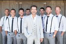 Gallant Groomsmen / Style and outfit inspiration for a dapper entourage! #wedding #groomsman #ringbearer
