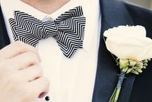Bow Ties / Snap shots of the most suave bow ties out there! Especially for the dapper #gentleman or stylish #groom.