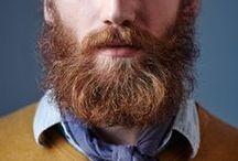 Men with beard.