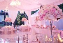 Pink Wedding / Pretty in Pink!! Flowers, dresses, reception tables, wedding favors all in shades of pink. Get your pink-spiration right here!!